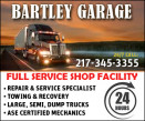 Bartley Garage 24Hr Towing and Recovery logo