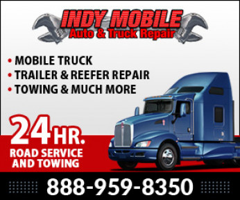 Indy Mobile Auto & Truck Repair Logo