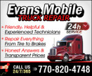 Evans Mobile Truck Repair logo