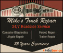 Mike's Truck Repair logo