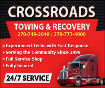 Crossroads Towing & Roadside Repair Logo