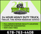 201 Truck Repair and Mobile Services LLC. logo