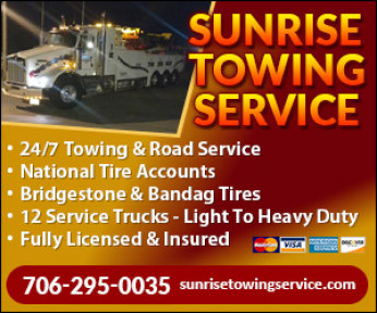 SUNRISE TOWING & 24 HR ROAD SERVICE Logo