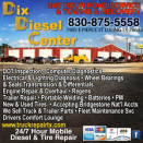 DIX DIESEL CENTER - SHOP logo