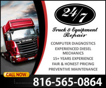 24/7 Truck & Equipment Repair Logo