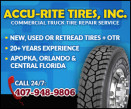 Accu-Rite Tires Inc. logo