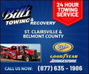 Bill's Towing logo
