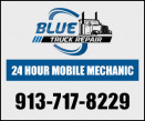 Blue Truck Repair Inc. Mobile Repair  logo