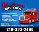 Jackson Motors - 24/7 Rd Srv & HD Towing logo
