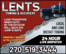 Lents Towing and Recovery logo