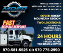 MOBILE DIESEL EQUIPMENT REPAIR logo
