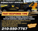 RHINOS FLEET SERVICES logo