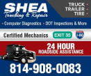 SHEA TRUCKING AND REPAIR logo